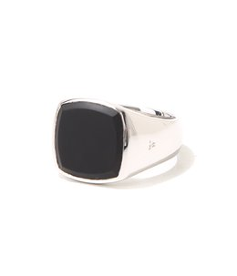 Cushion Black Onyx Ring M