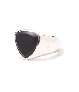Shield Black Onyx Ring M
