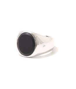 Oval Black Onyx Ring M