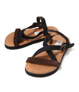Rubberised Leather Sandal