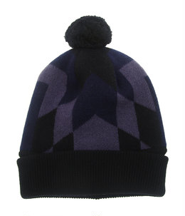 ski cap.-black×midnight-