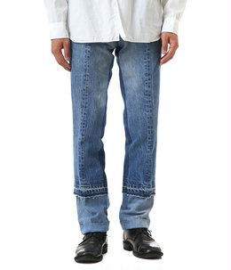 layered jean.-INDIGO-