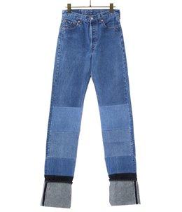 selvedge jean. -indigo- (size44)