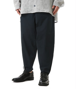THE ACROBAT TROUSER COTTON PERCALE -flint-