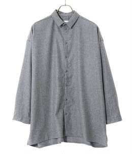 THE DRAUGHTSMAN SHIRT -WOOL CASH-