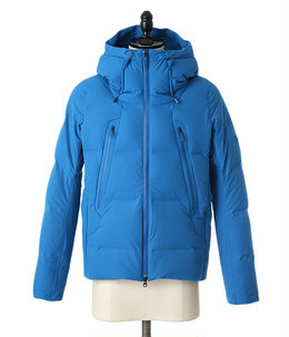 "MIZUSAWA DOWN JACKET ""MOUNTAINEER"" -BLUE ACID-"