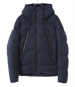 "MIZUSAWA DOWN JACKET ""MOUNTAINEER"" -GRAPHITE NAVY-"