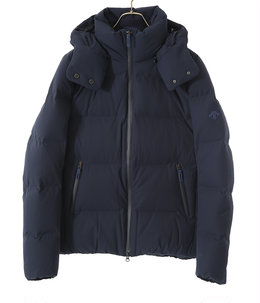 "MIZUSAWA DOWN JACKET ""ANCHOR"" -GRAPHITE NAVY-"