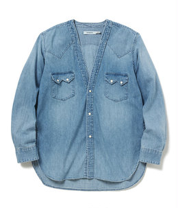 RANCHER SHIRT JACKET COTTON 8oz DENIM VW LIGHT