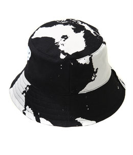SUN HAT WORLD MELT PRINT