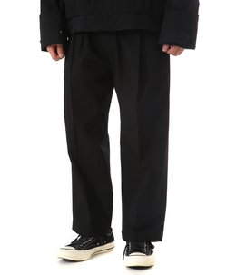 WIDE STRAIGHT TROUSERS