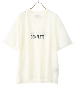 PRINT TEE -COMPLETE & INCOMPLETE-