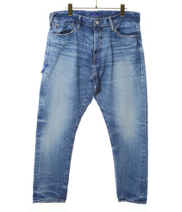 Three year wash ankle cut denim pants