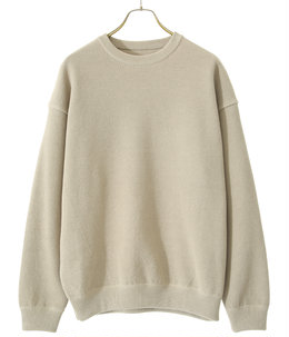 【ONLY ARK】別注 moss stich L/S sweat