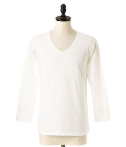 V NECK LONG SLEEVE