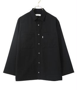 Selvage Wool L/S Box Shirt