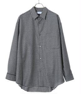 Marzotto Gingham Oversized Shirt