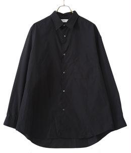 Broad L/S Oversized Regular Collar Shirt