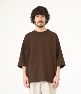 FOOT BALL TEE - compact cotton knit -