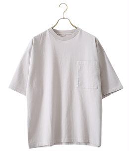 garment dye pocket S/S