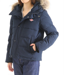 【レディース】<P/C TUSSAH (タッサー)>-SHORT DOWN JACKET