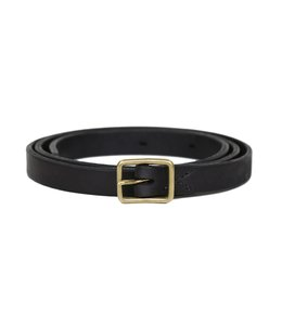 Hand Made Leather Belt (18mm GOLD)