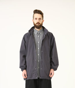 COTTON WEATHER LONG COACH JACKET