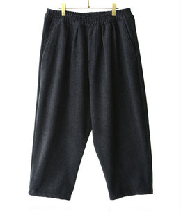 LAMB WOOL BALLOON PANTS