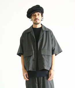 PLEATS POCKET SHIRT - w/cordura ripstop -