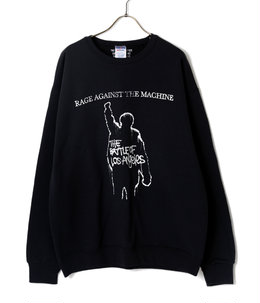 RAGE AGAINST THE MACHINE / CREW NECK SWEAT SHIRT ( TYPE-7 )