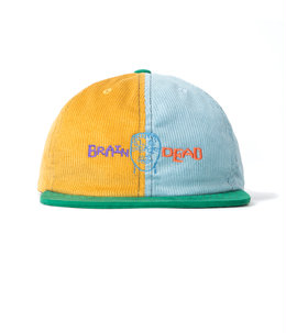 COLORBLOCKED STRAP BACK