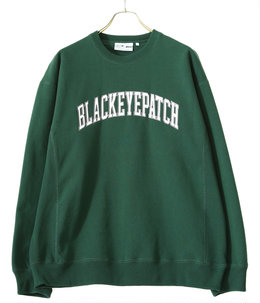 COLLEGE CREW SWEAT / GREEN