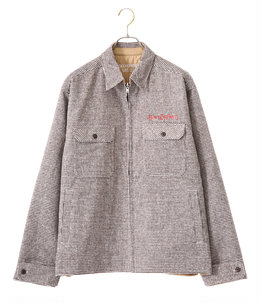 HOUNDTOOTH REVERSIBLE JACKET