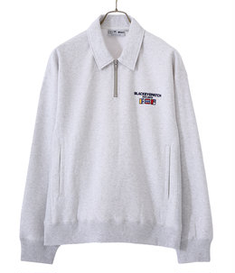 NAUTICAL HALF ZIP SWEAT