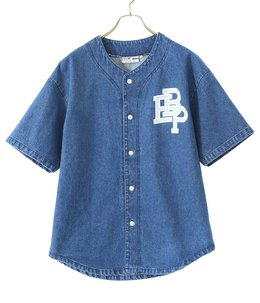 DENIM BASEBALL SHIRT