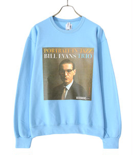 BILL EVANS / CREW NECK SWEAT SHIRT ( TYPE-1 )