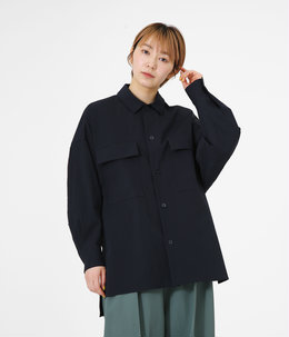 【レディース】STRETCH BROAD OVERSIZED WORK JACKET