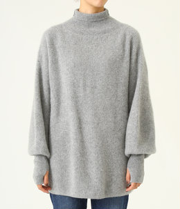 【レディース】CASHMERE FOX HIGH NECK TUNIC