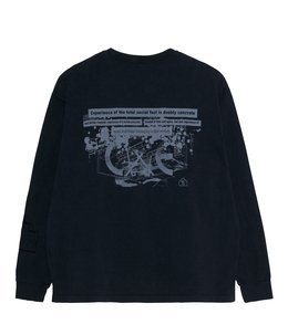 SOCIETY HEAVY LONG SLEEVE T
