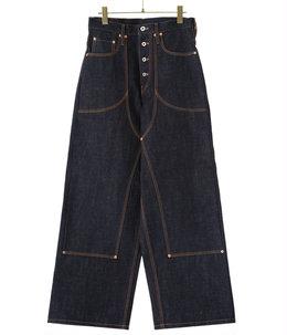 CLASSIC DOUBLE KNEE DENIM PANTS
