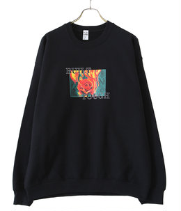 FIRE ROSE C/N SWEAT