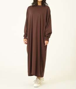【レディース】GIZA COTTON MAXI L/S