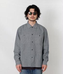 Lot 3004 Indigo Staggered shirt