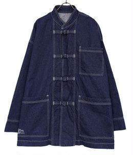 DENIM KUNG-FU COVERALL / OW