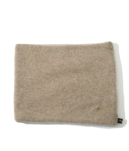 【予約】PURE CASHMERE KNIT NECK WARMER
