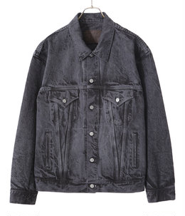 【ONLY ARK】別注 14oz. DENIM JACKET PIGMENT DYED