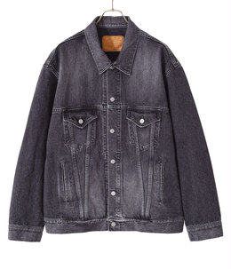 【予約】14oz. DENIM JACKET HARD WASHED