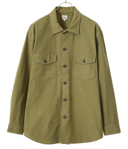 【予約】HEAVY BACKSATIN UTILITY JACKET