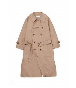 【レディース】Double Cloth Peach Trench Coat