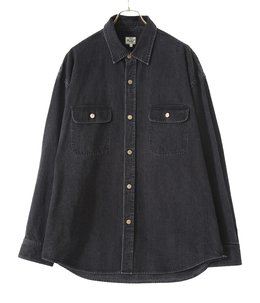 10oz DENIM BIG WORK SHIRT